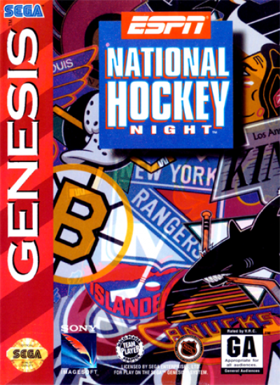 Rom juego ESPN National League Hockey Night