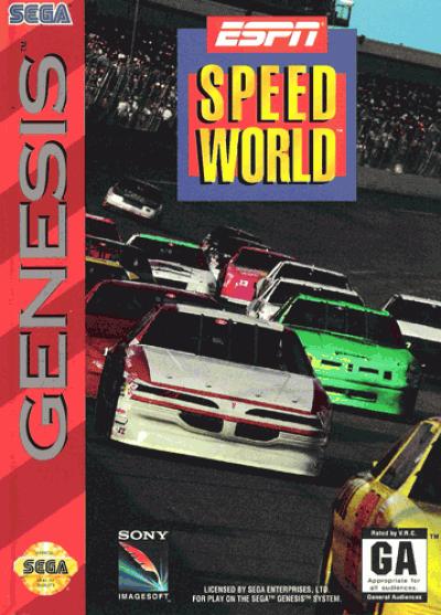 Rom juego ESPN SpeedWorld