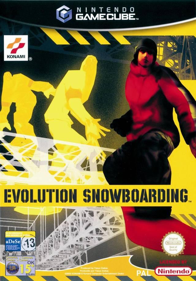 Rom juego Evolution Snowboarding