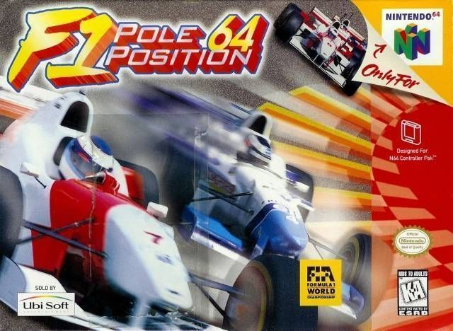 Rom juego F-1 Pole Position 64