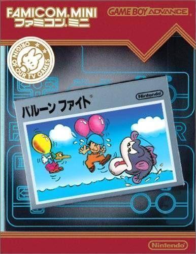 Rom juego Famicom Mini - Vol 13 - Balloon Fight