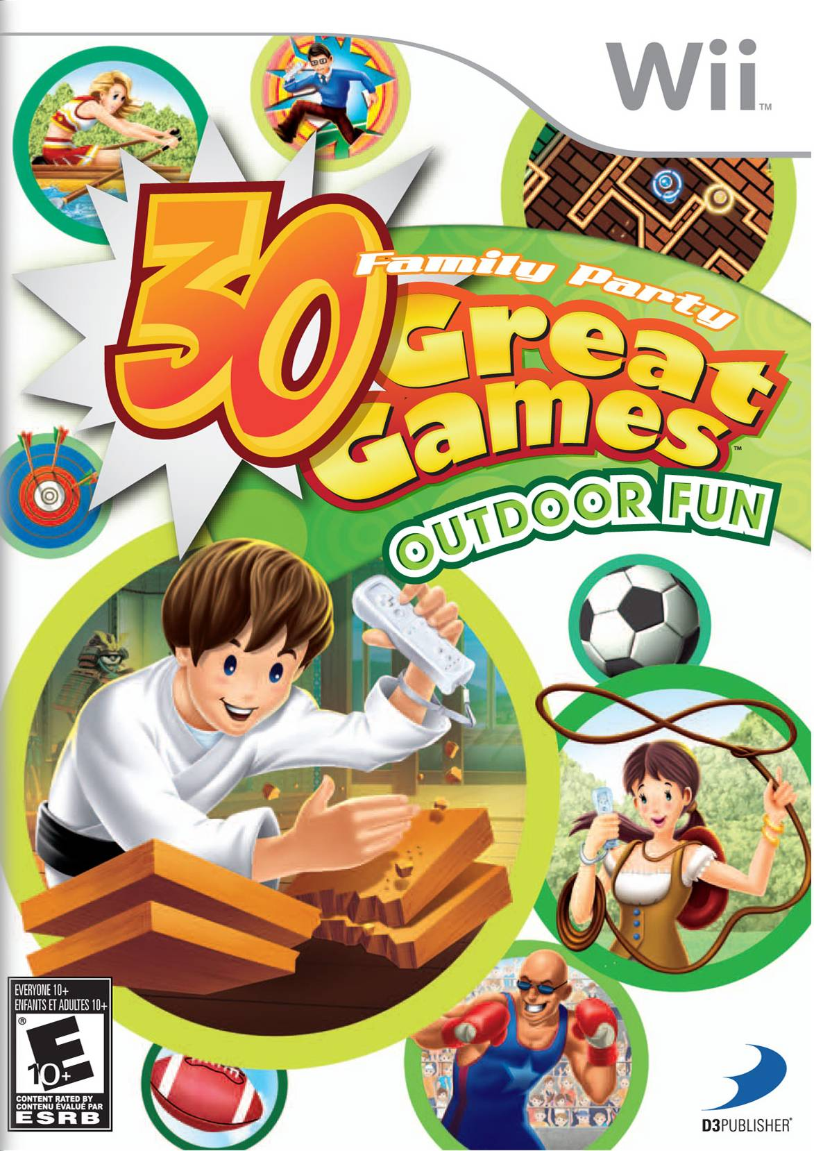 Rom juego Family Party - 30 Great Games Outdoor Fun