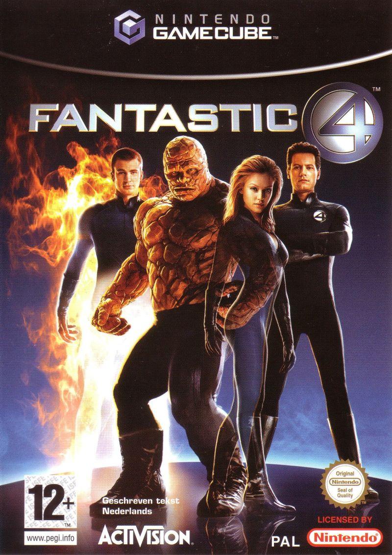 Rom juego Fantastic 4