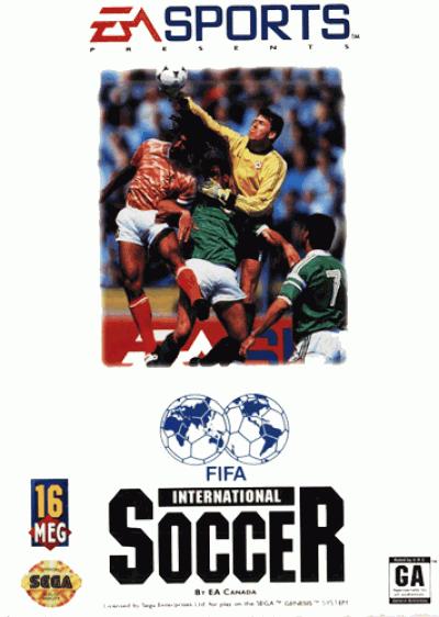Rom juego FIFA International Soccer (EUJ)