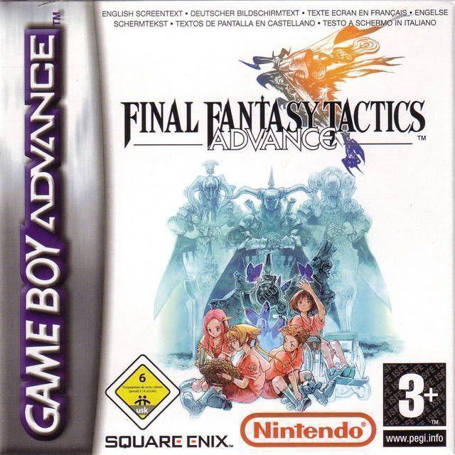 Rom juego Final Fantasy Tactics Advance