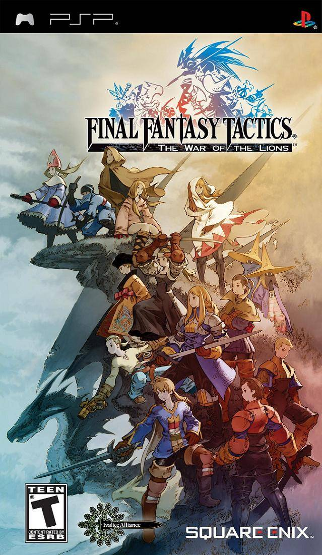 Rom juego Final Fantasy Tactics - The War Of The Lions