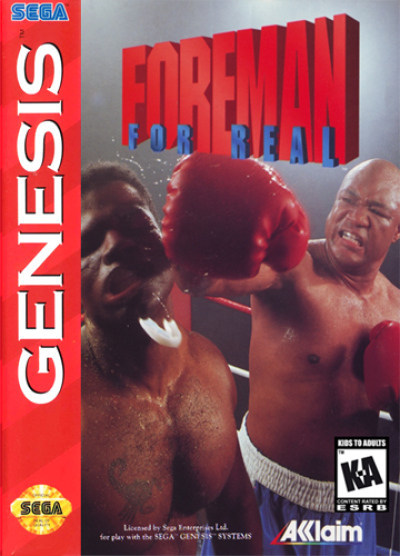 Rom juego Foreman For Real