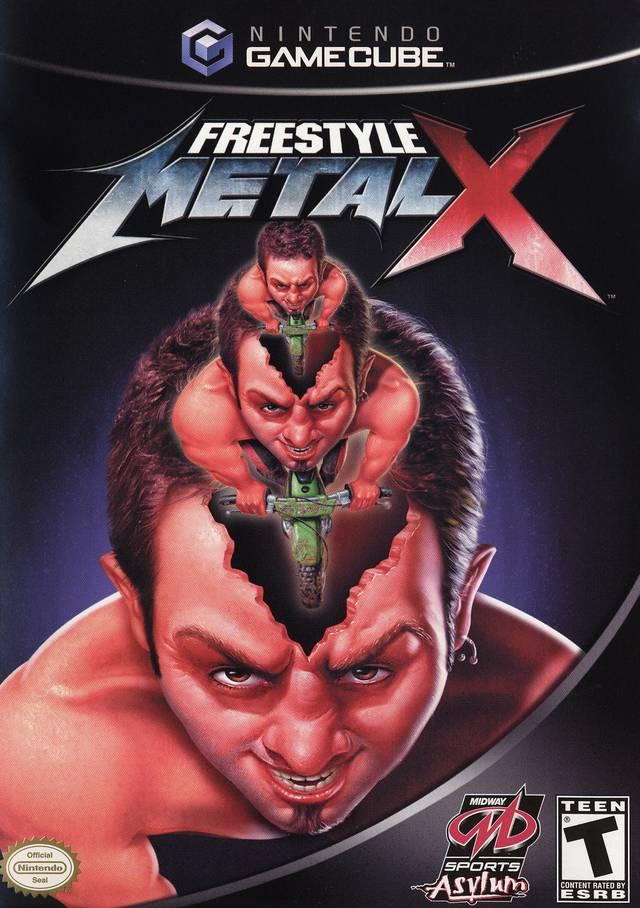 Rom juego Freestyle Metal X