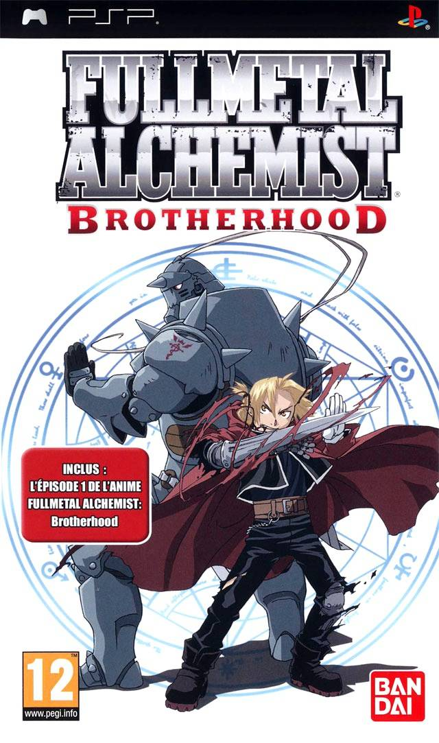 Rom juego Fullmetal Alchemist - Brotherhood