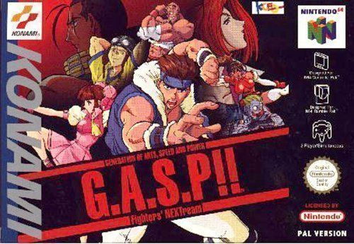 Rom juego G.A.S.P!! Fighter's NEXTream