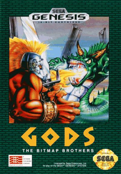 Rom juego Gods