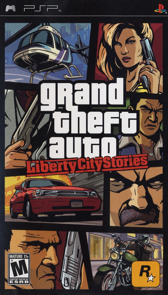 Rom juego Grand Theft Auto - Liberty City Stories