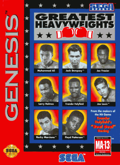 Rom juego Greatest Heavyweights Of The Ring