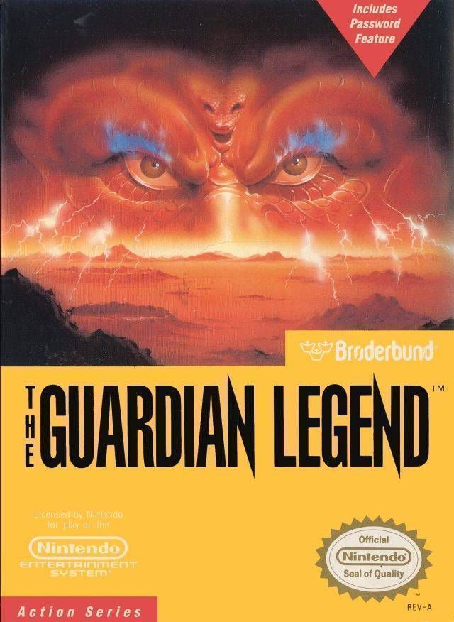 Rom juego The Guardian Legend