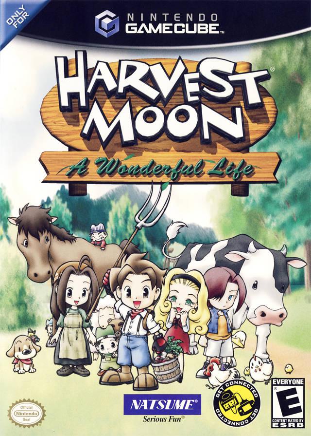 Rom juego Harvest Moon A Wonderful Life