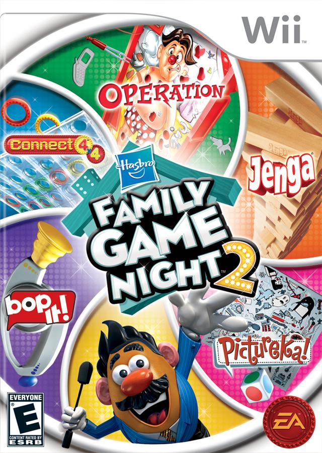 Rom juego Hasbro - Family Game Night 2
