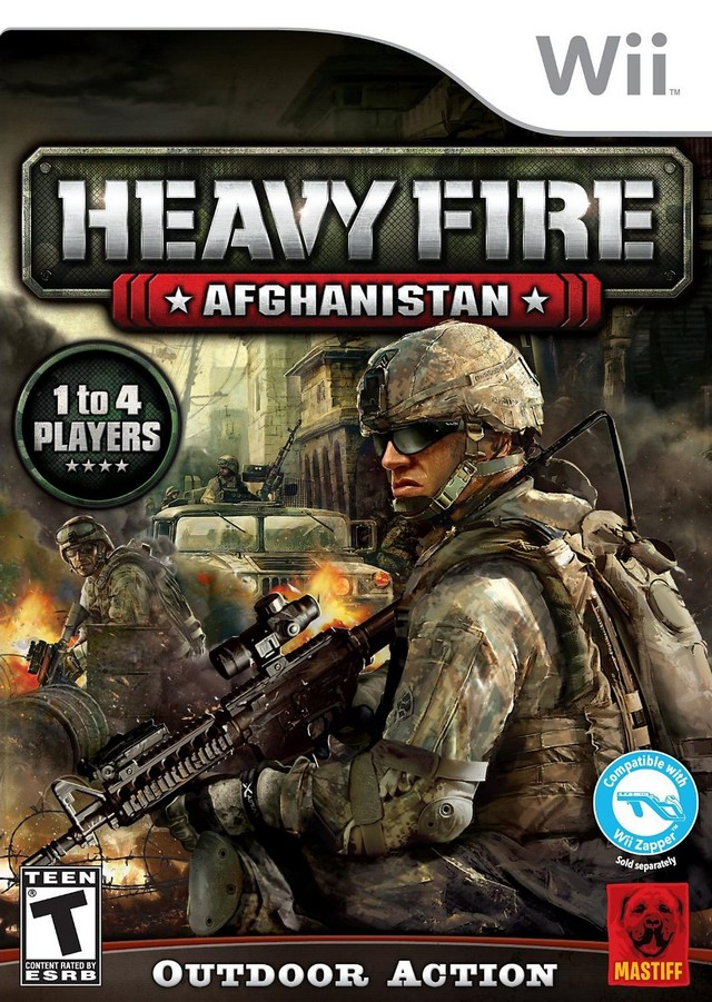 Rom juego Heavy Fire - Afghanistan