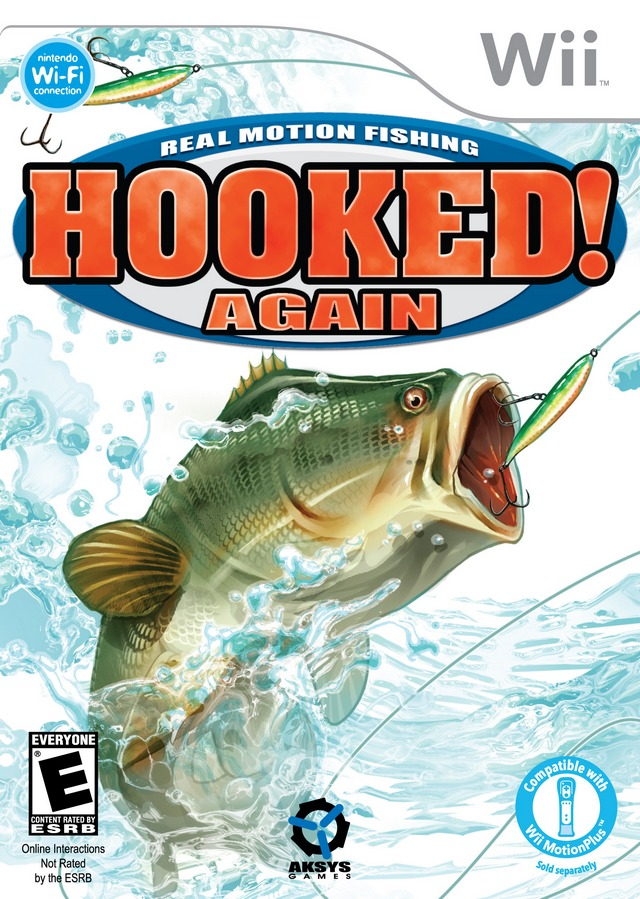 Rom juego Hooked Again- Real Motion Fishing