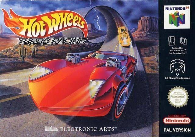 Rom juego Hot Wheels Turbo Racing