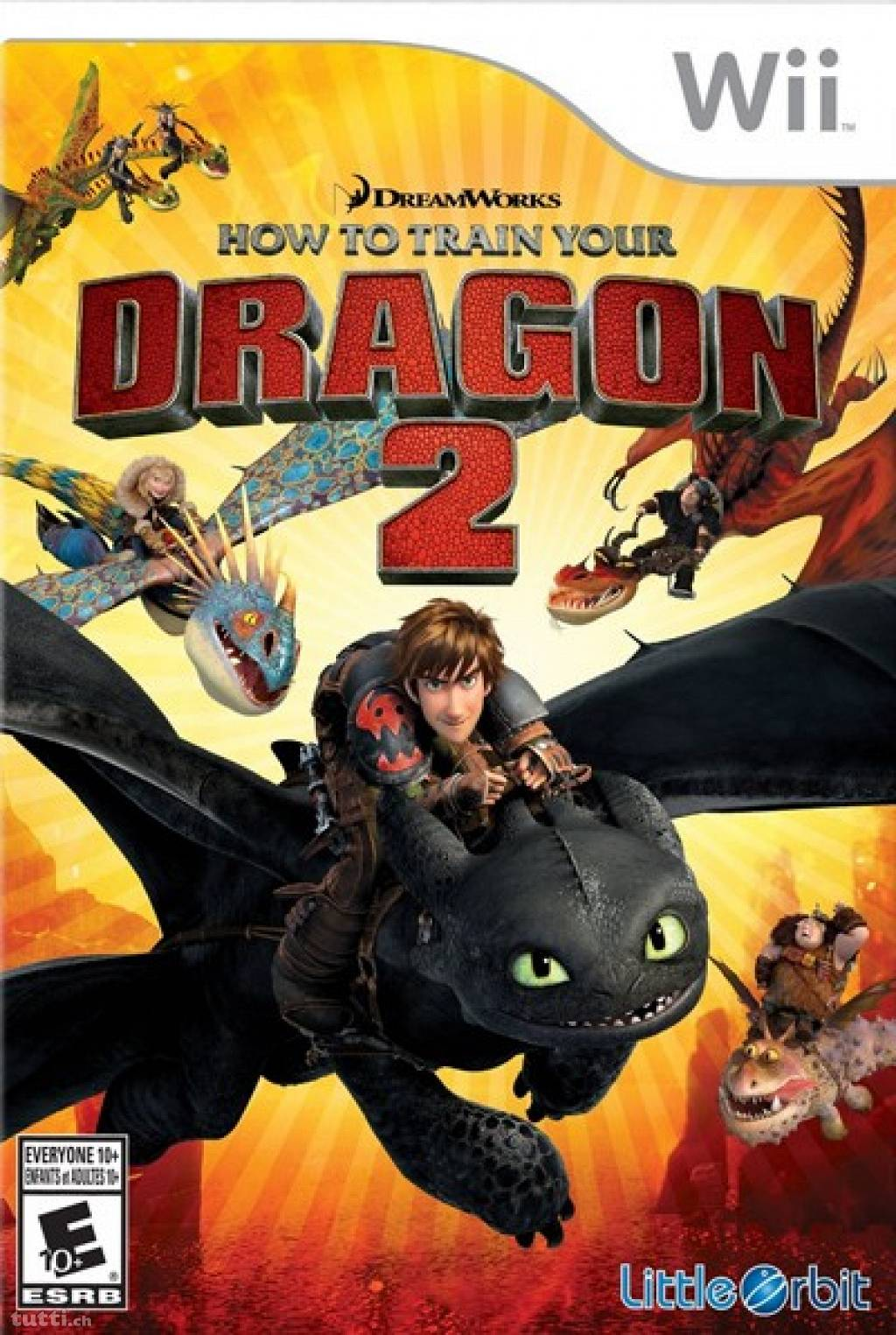 Rom juego How To Train Your Dragon 2