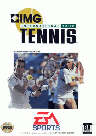 Rom juego IMG International Tour Tennis (UEJ)