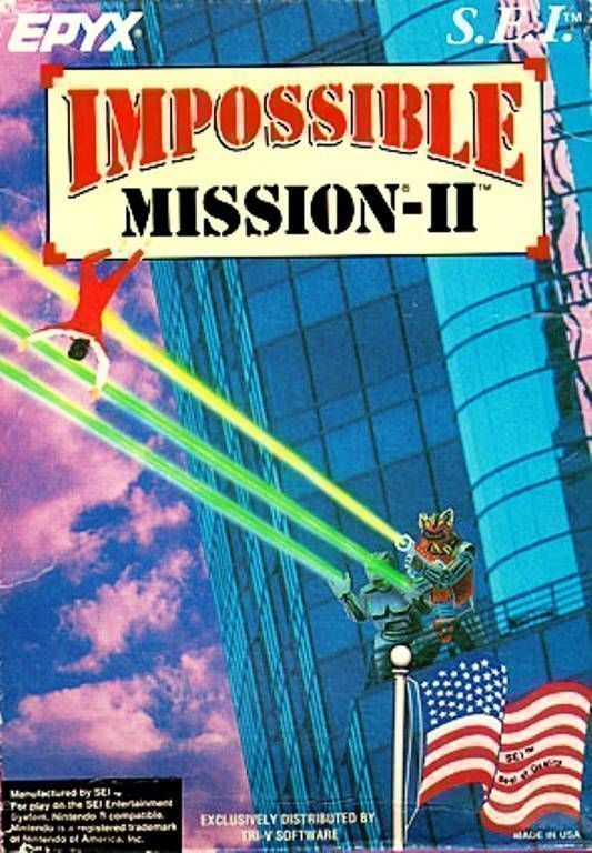 Rom juego Impossible Mission 2