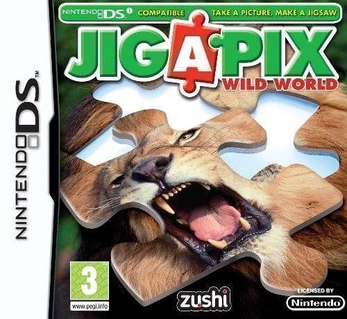 Rom juego Jig A Pix - Wild World