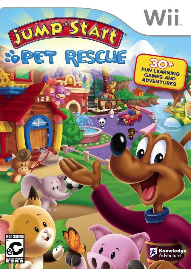 Rom juego JumpStart- Pet Rescue