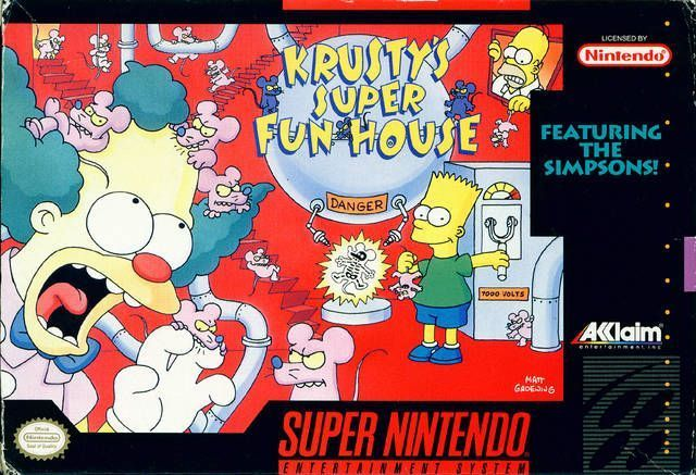 Rom juego Krusty's Super Fun House