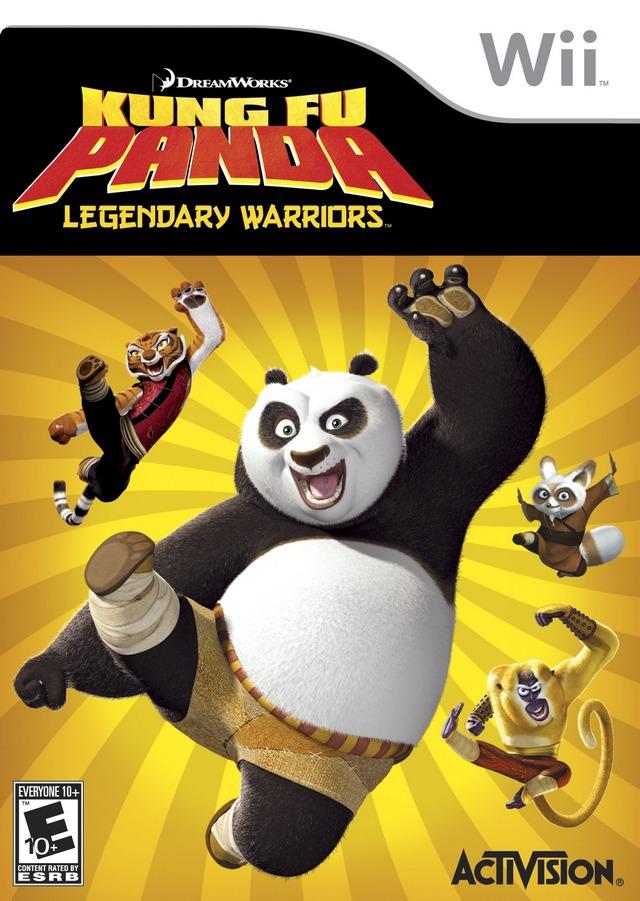 Rom juego Kung Fu Panda- Legendary Warriors