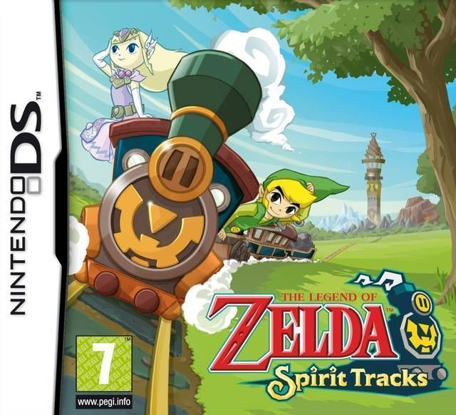 Rom juego Legend Of Zelda - Spirit Tracks, The
