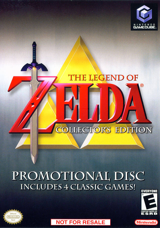 Rom juego Legend Of Zelda The Collector's Edition