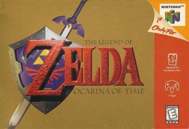 Rom juego The Legend Of Zelda - Ocarina Of Time