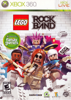 Rom juego LEGO Rock Band