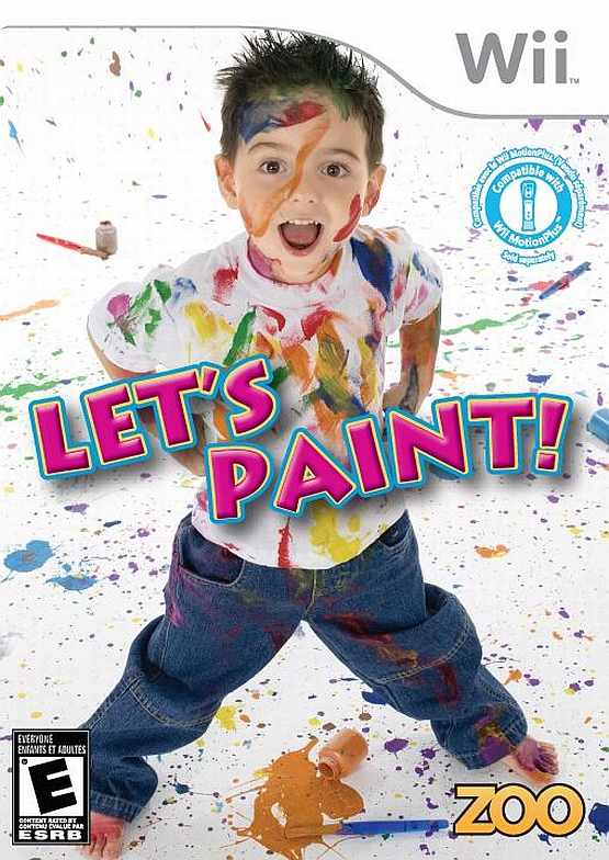 Rom juego Let's Paint