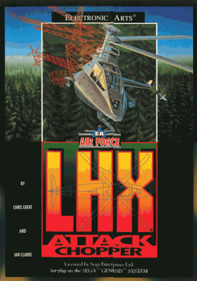 Rom juego LHX Attack Helicopter