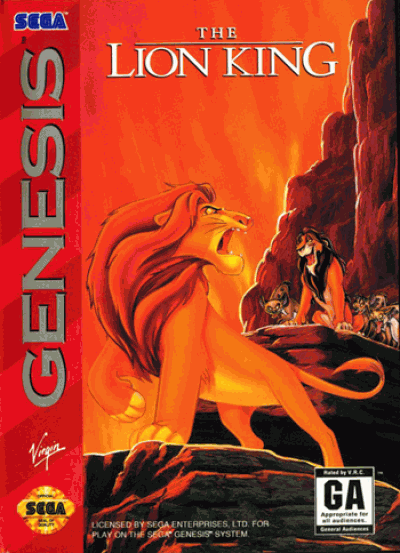 Rom juego Lion King, The (UEJ)