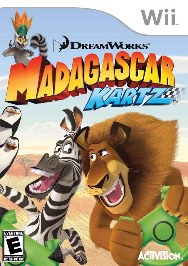Rom juego Madagascar Kartz