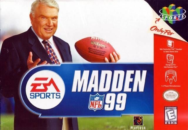 Rom juego Madden NFL 99