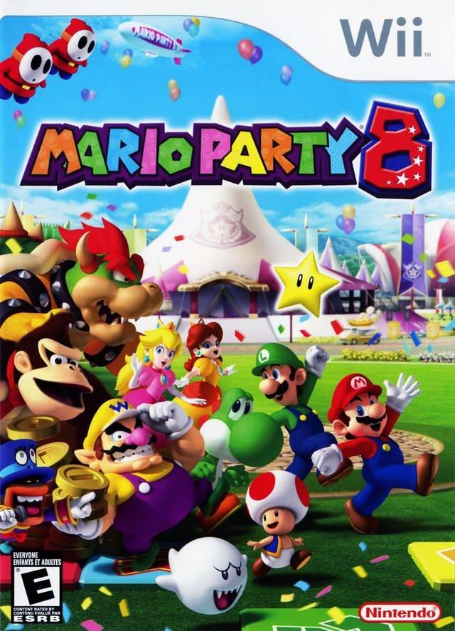 Rom juego Mario Party 8