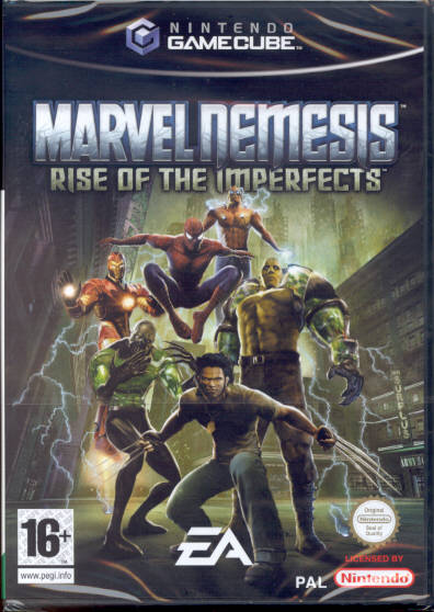 Rom juego Marvel Nemesis Rise Of The Imperfects