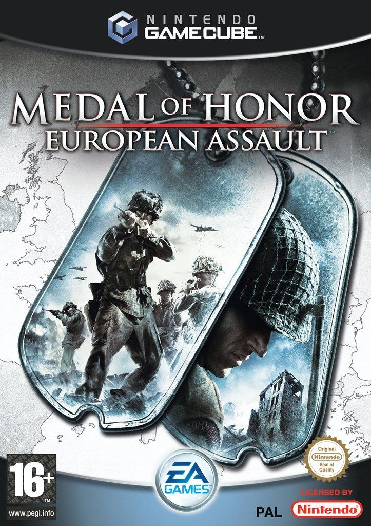 Rom juego Medal Of Honor European Assault