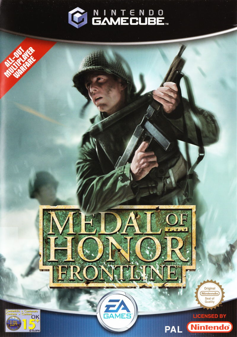 Rom juego Medal Of Honor Frontline