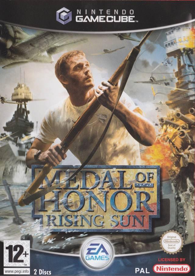 Rom juego Medal Of Honor Rising Sun  - Disc #1