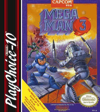 Rom juego Mega Man 3