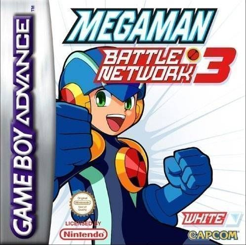 Rom juego MegaMan Battle Network 3 White Version