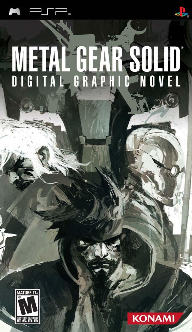 Rom juego Metal Gear Solid - Digital Graphic Novel