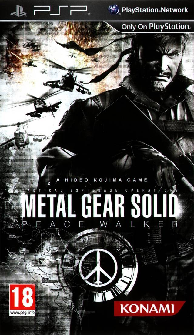 Rom juego Metal Gear Solid - Peace Walker