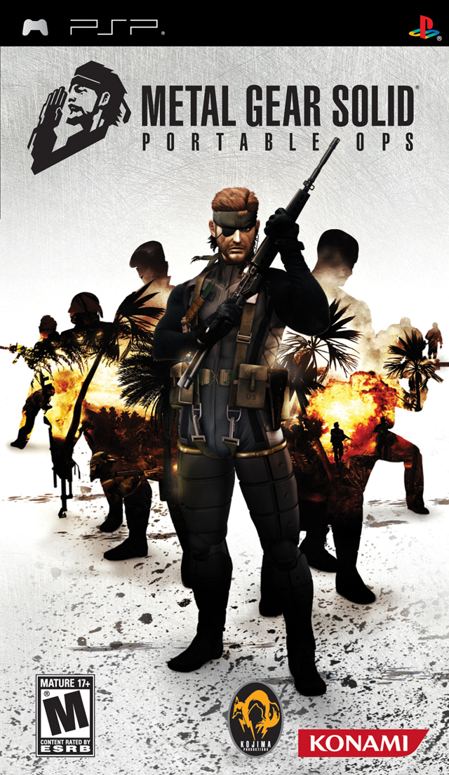 Rom juego Metal Gear Solid - Portable Ops