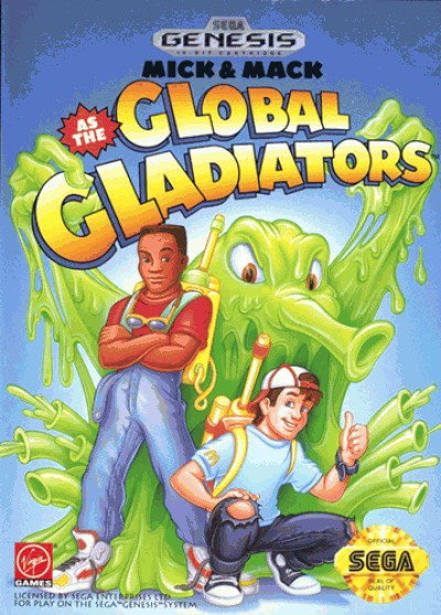 Rom juego Mick & Mack As The Global Gladiators